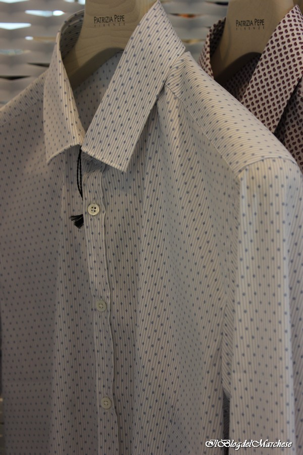 brand new 110a9 5b574 camicie patrizia pepe uomo primavera estate 2014 - Il blog ...