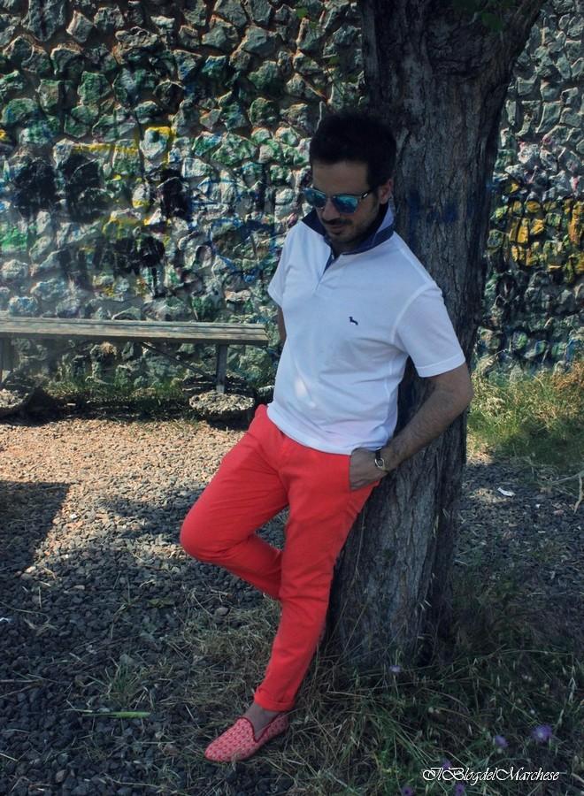 pantaloni colorati uomo estate 2014