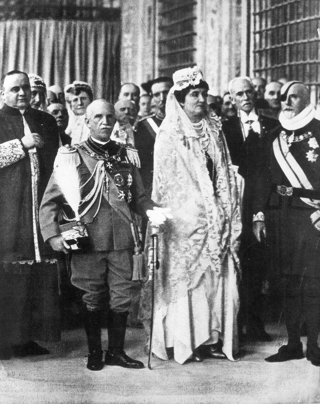 1929 - Visita dei reali d'Italia al Pontefice