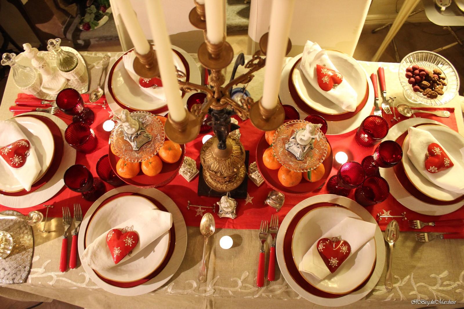 La tavola di natale idee per addobbare la tavola di natale - La tavola di melusinda ...
