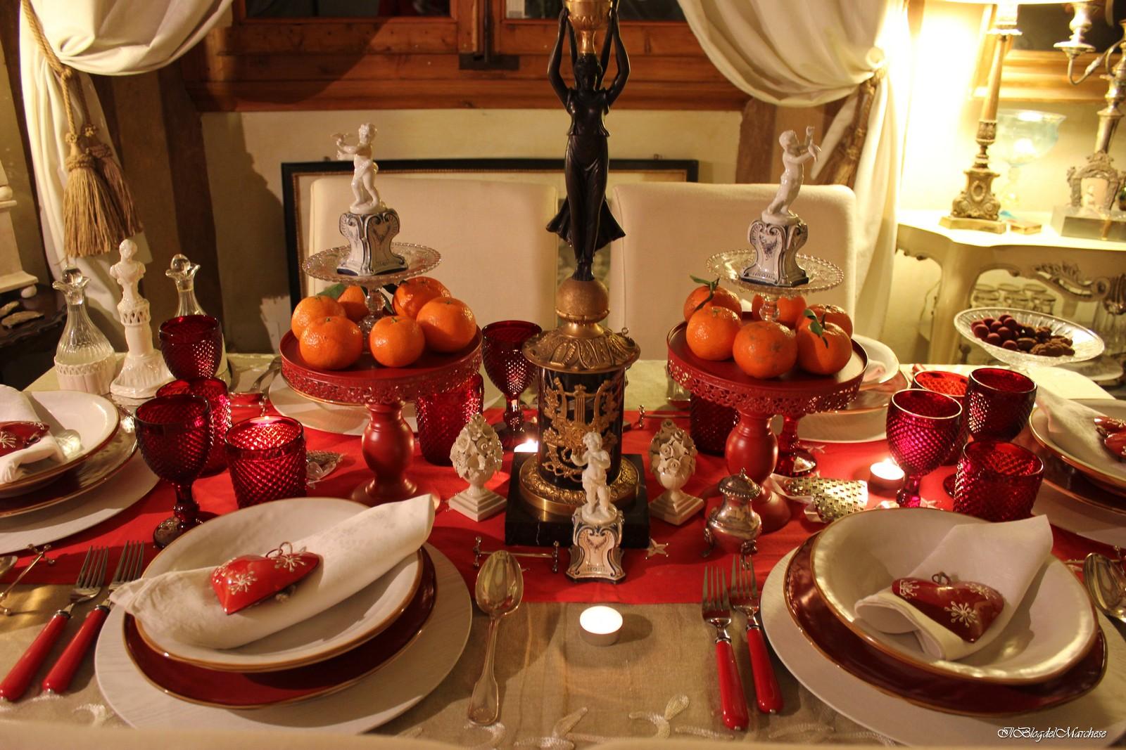Idee per addobbare la tavola di natale 2014 il blog del marchese - Addobbare la tavola per natale ...