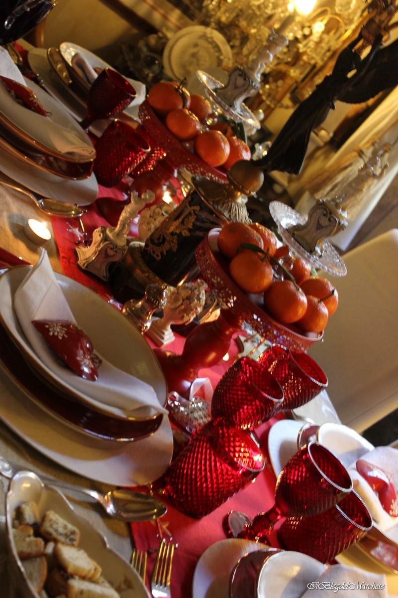 Idee per addobbare la tavola di natale - Addobbi natalizi sulla tavola ...