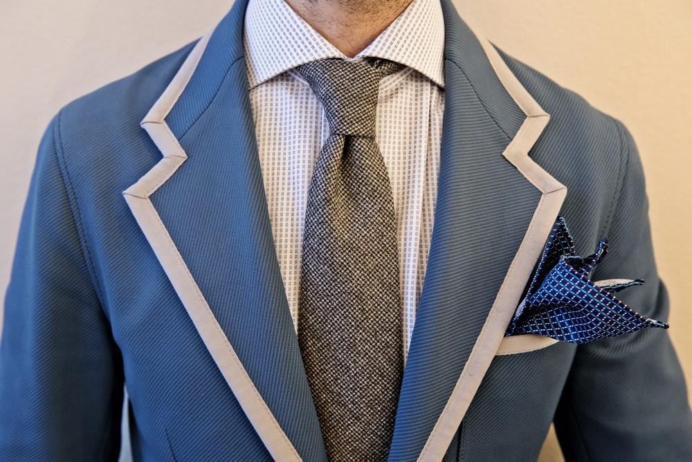 cravatte e pochette silvio fiorello