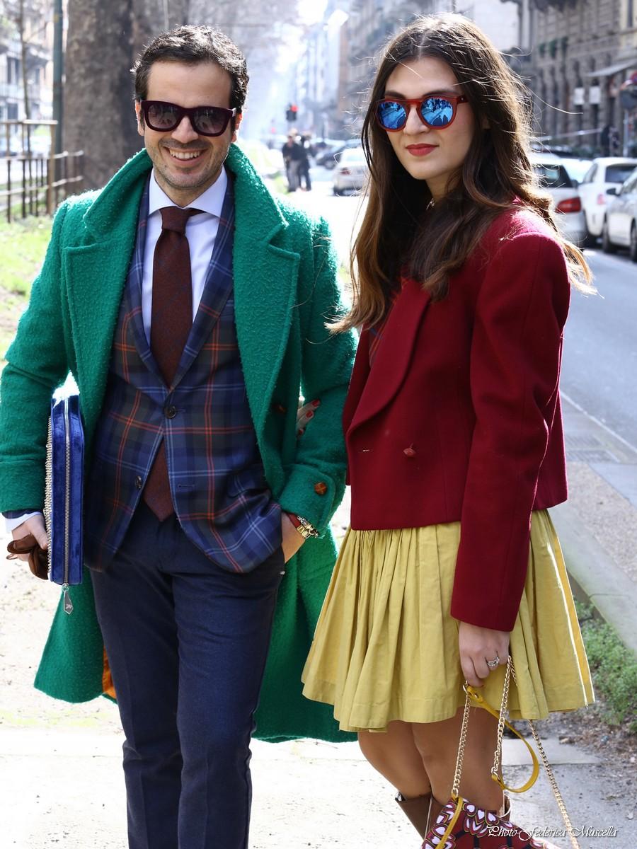 street style milano fashion week february 2015