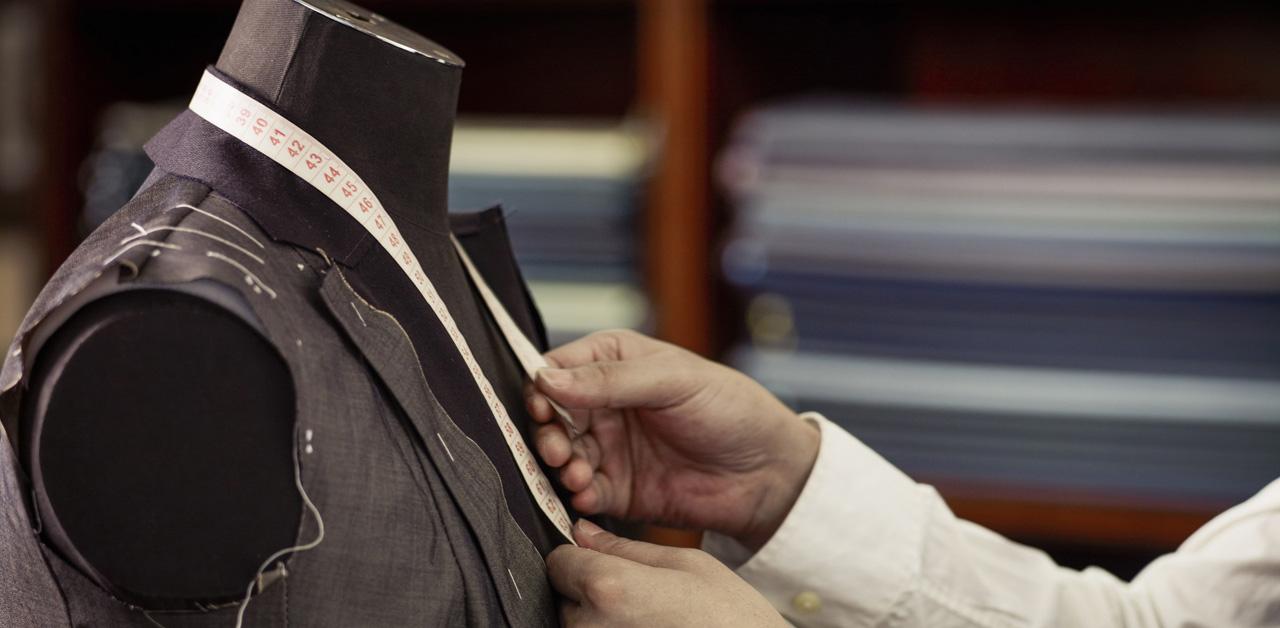 le misure per la giacca