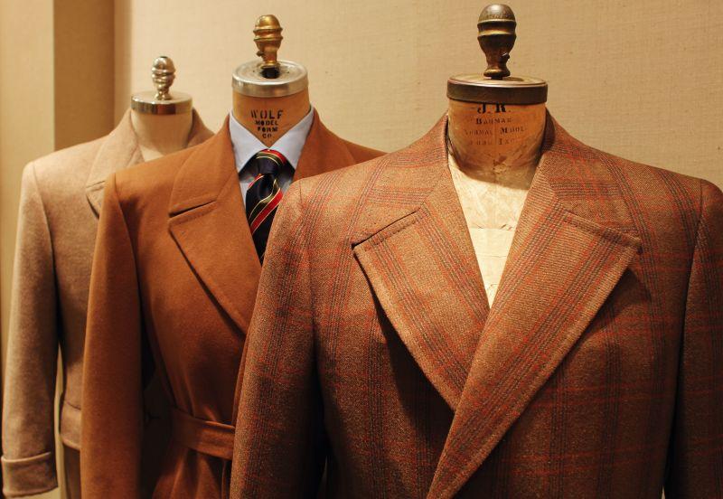 I modelli dei cappotti da uomo