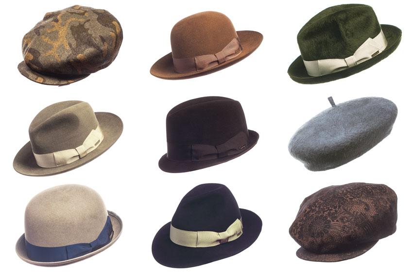 modelli dei cappelli da uomo