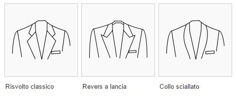 revers della giacca
