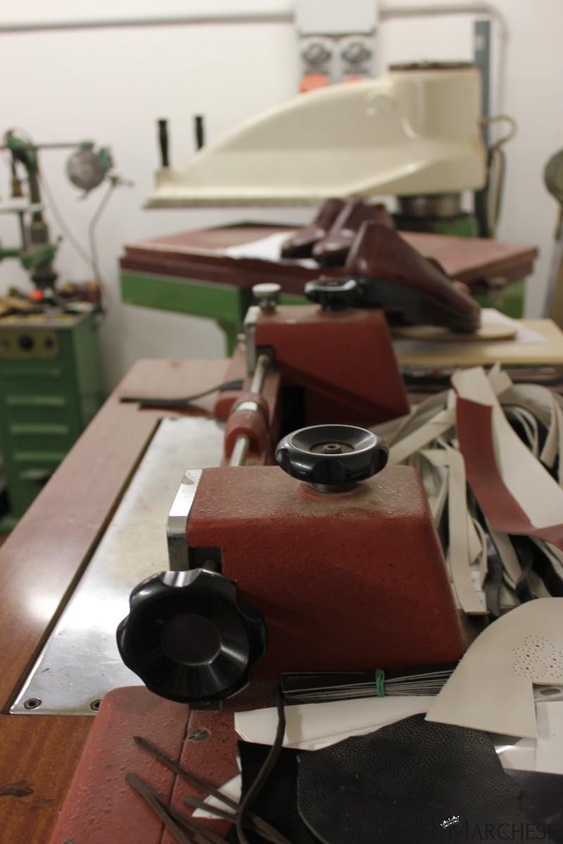 laboratorio per scarpe artigianali