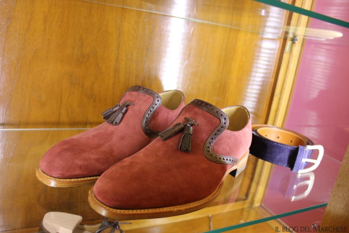 scarpe uomo fatte a mano
