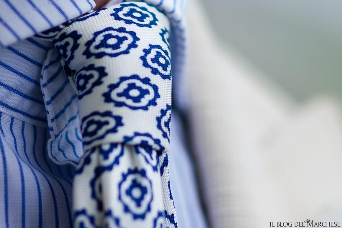 cravatte fantasie geometriche