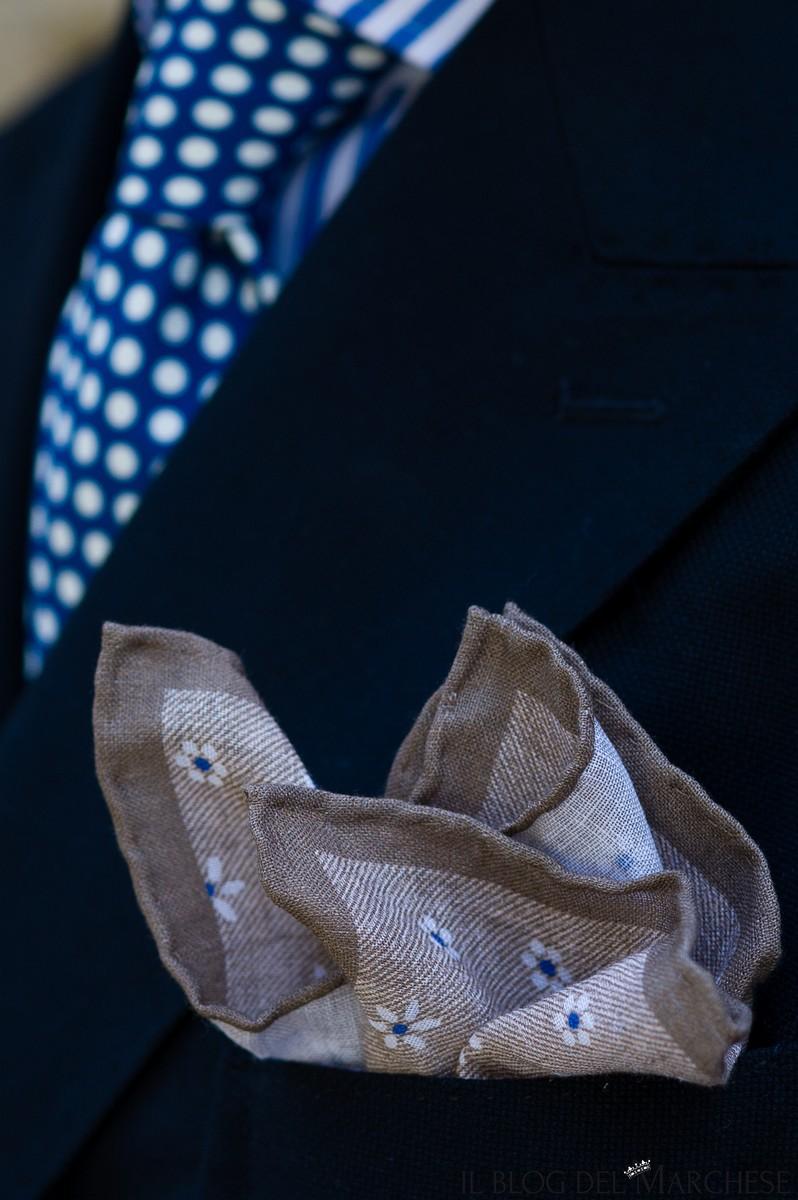 fazzoletti da taschino in lino