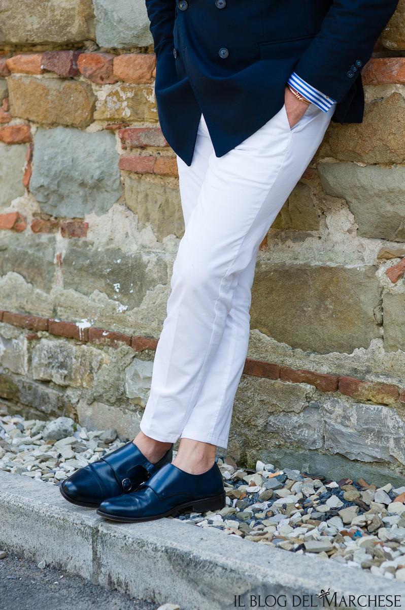 pantaloni bianchi da uomo estate 2016