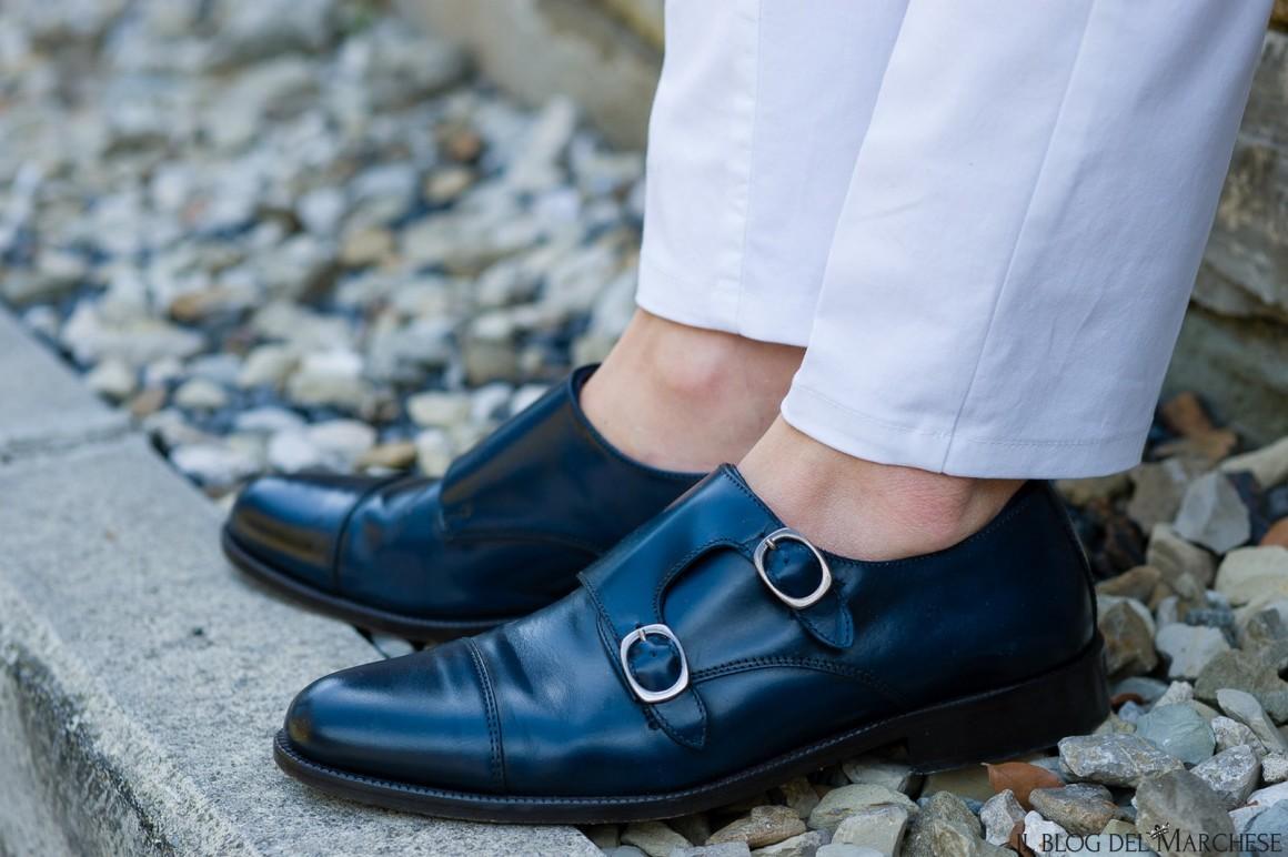 scarpa doppia fibbia da uomo