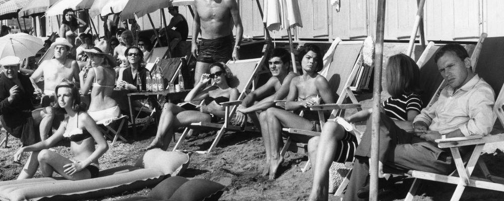 il galateo in spiaggia