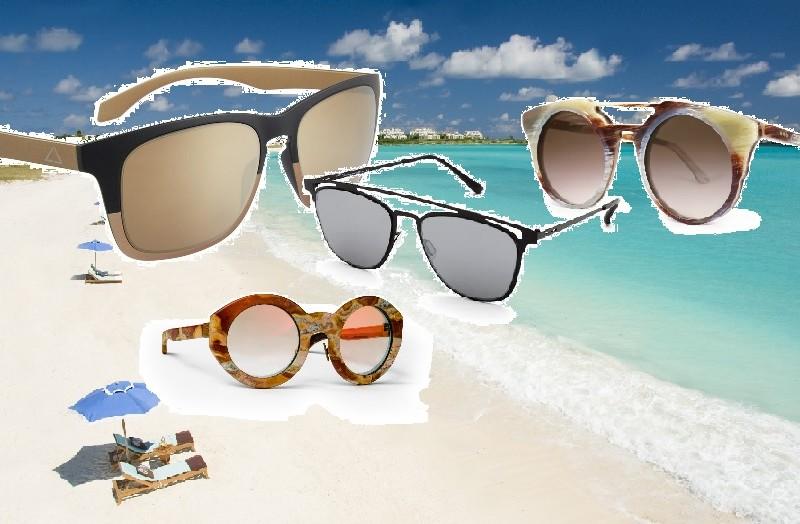 occhiali da sole maschili estate 2016