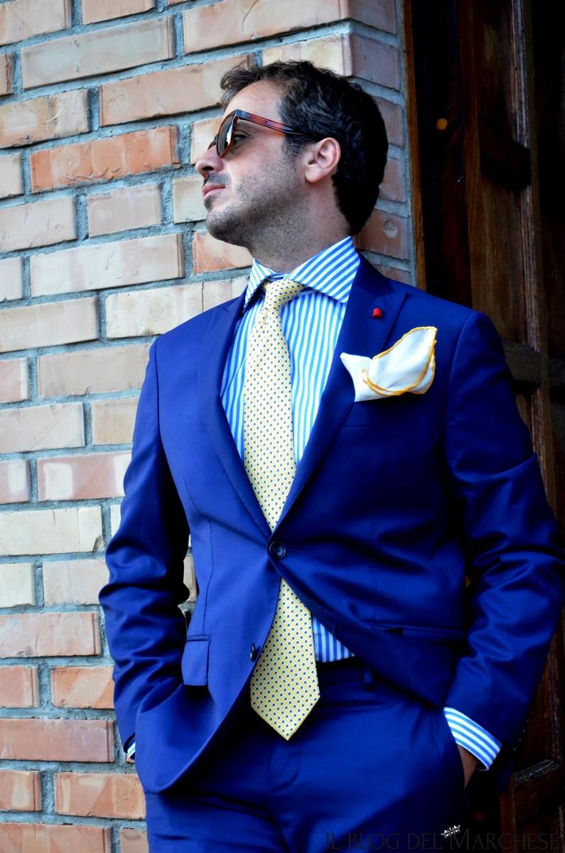 Super Abbinare abito blu uomo - Il blog del Marchese NA33