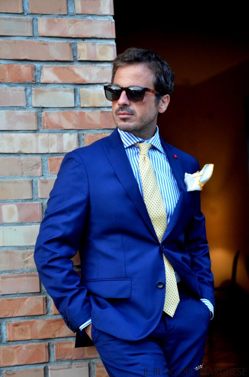 new product 80610 8f05e come-abbinare-abito-blu-uomo-3 - Il blog del Marchese