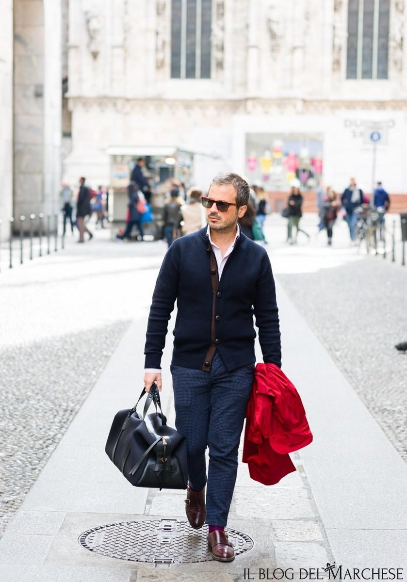 new product 54216 9a810 Come abbinare il cardigan maschile - Il blog del Marchese