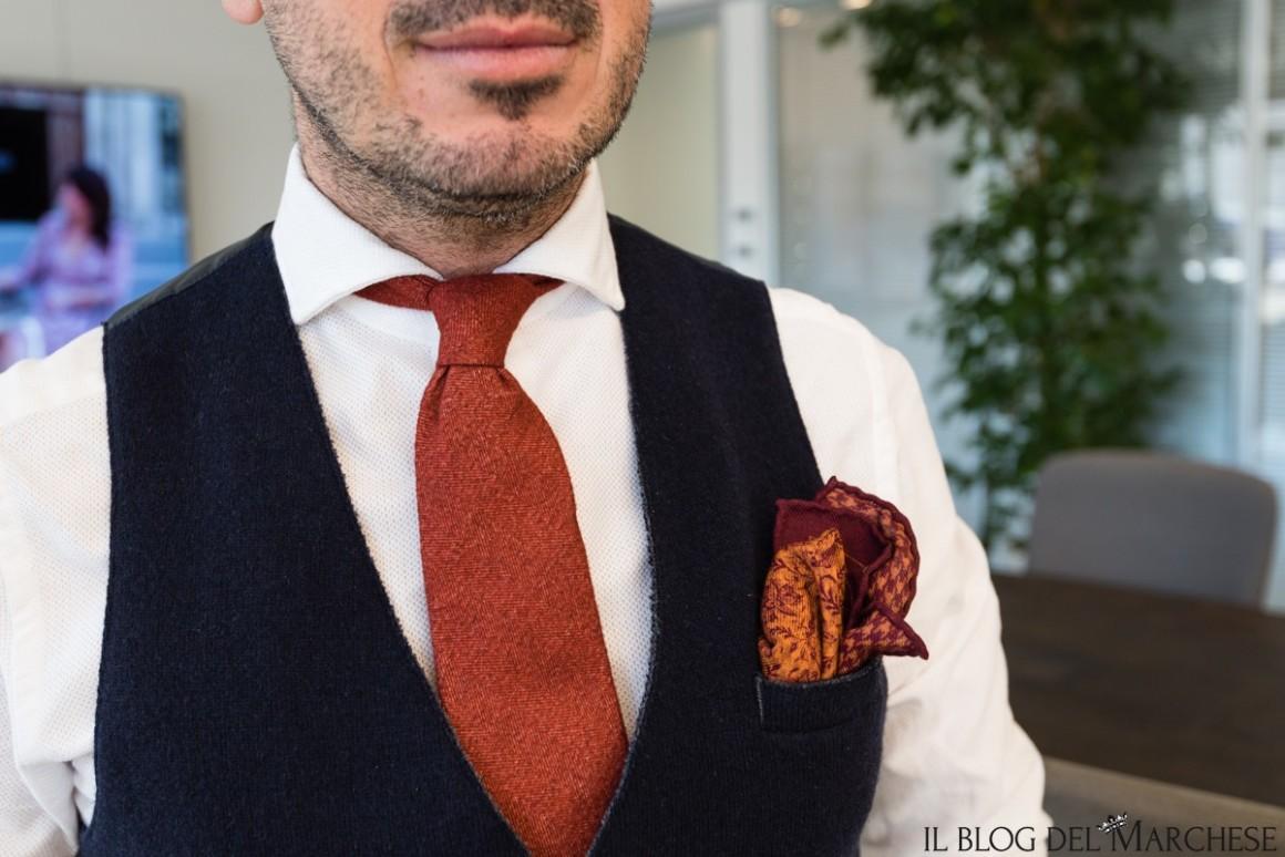 come indossare il gilet