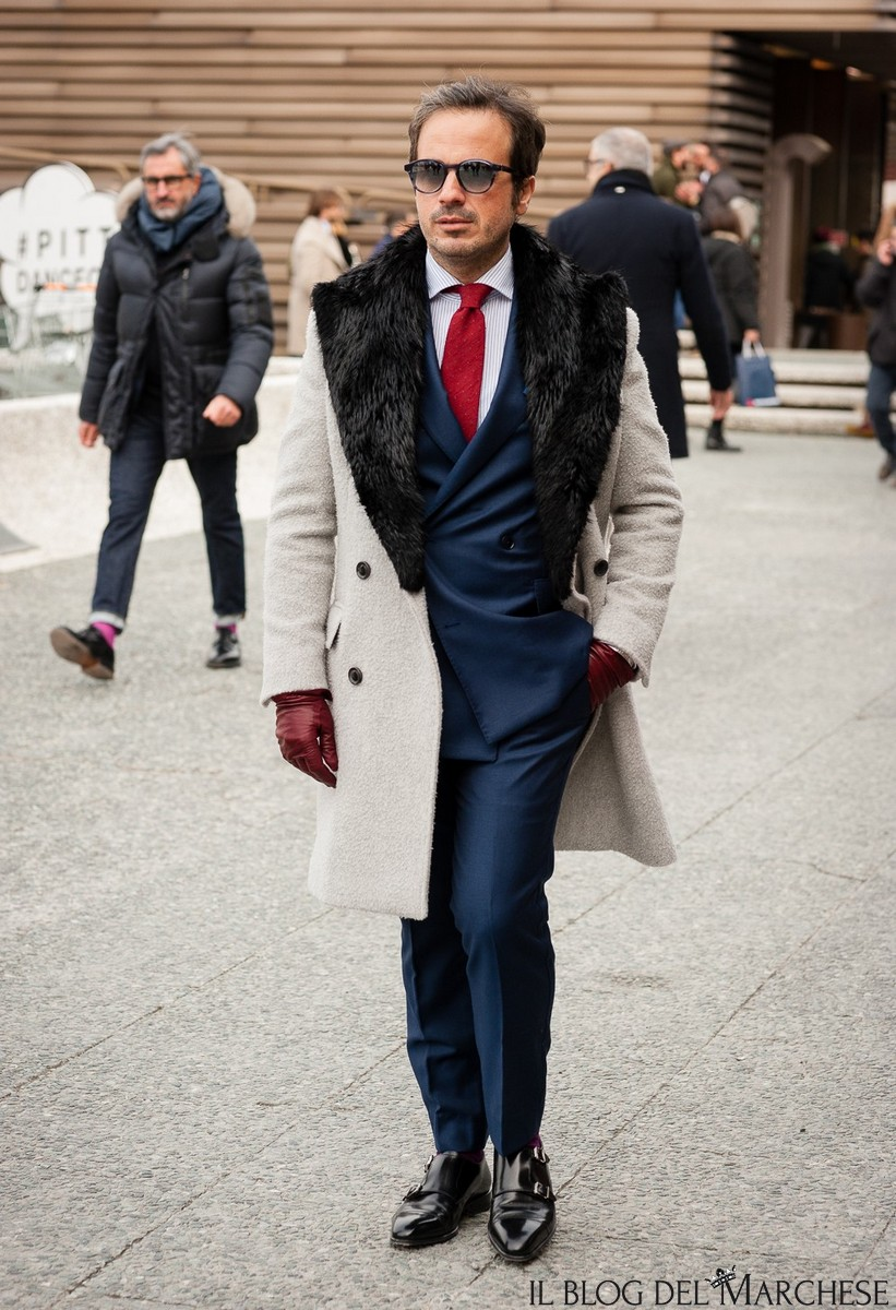 The Best Street Style from Pitti Uomo | Moda uomo, Cappotti
