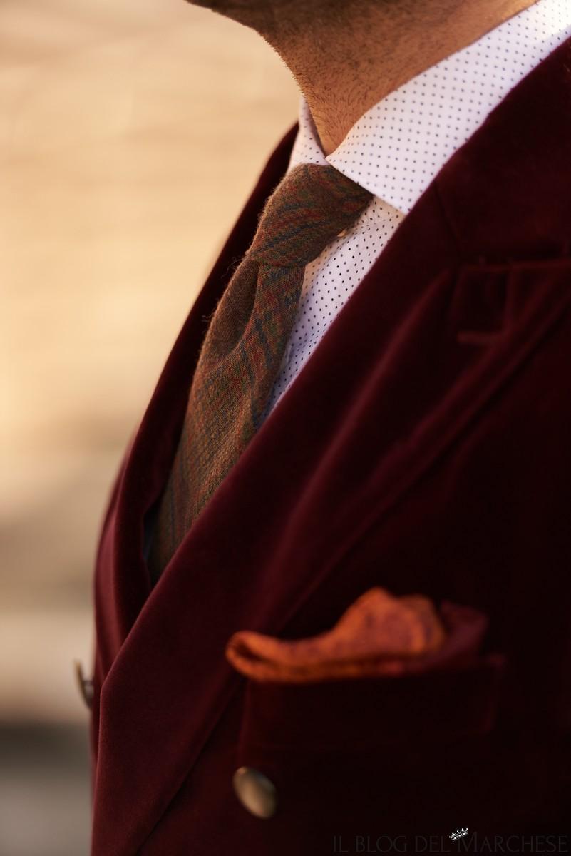 fazzoletto da taschino per giacca