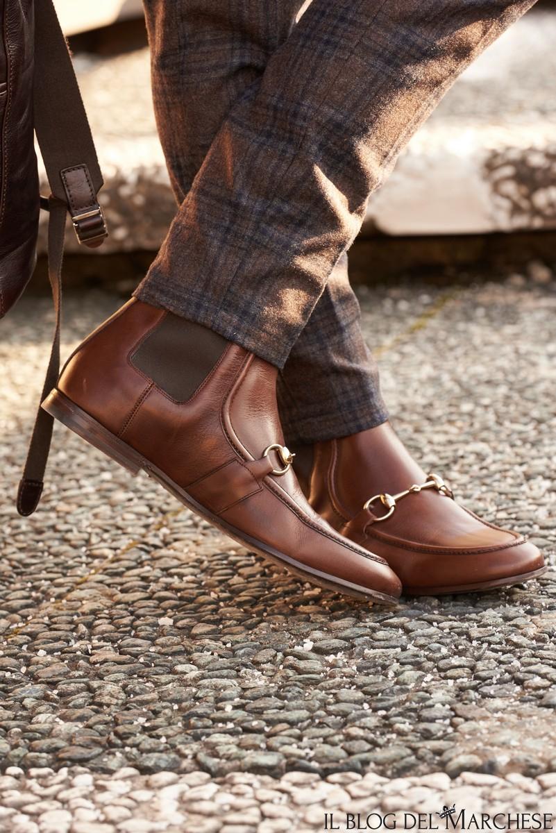 i modelli delle scarpe
