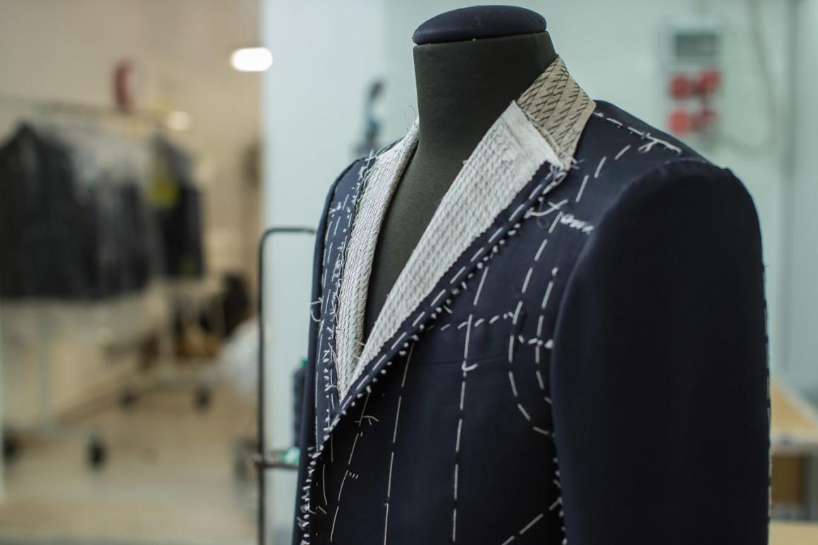giacca intelata