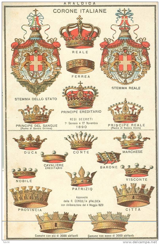 Per ogni corona un titolo nobiliare il blog del marchese for Cucinare nei vari dialetti italiani