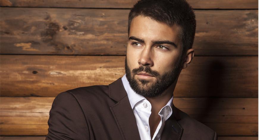 Beard for rectangular face