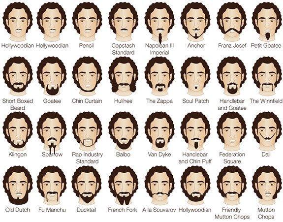 Molto Stili di barba per un look maschile perfetto - Il blog del Marchese HS95