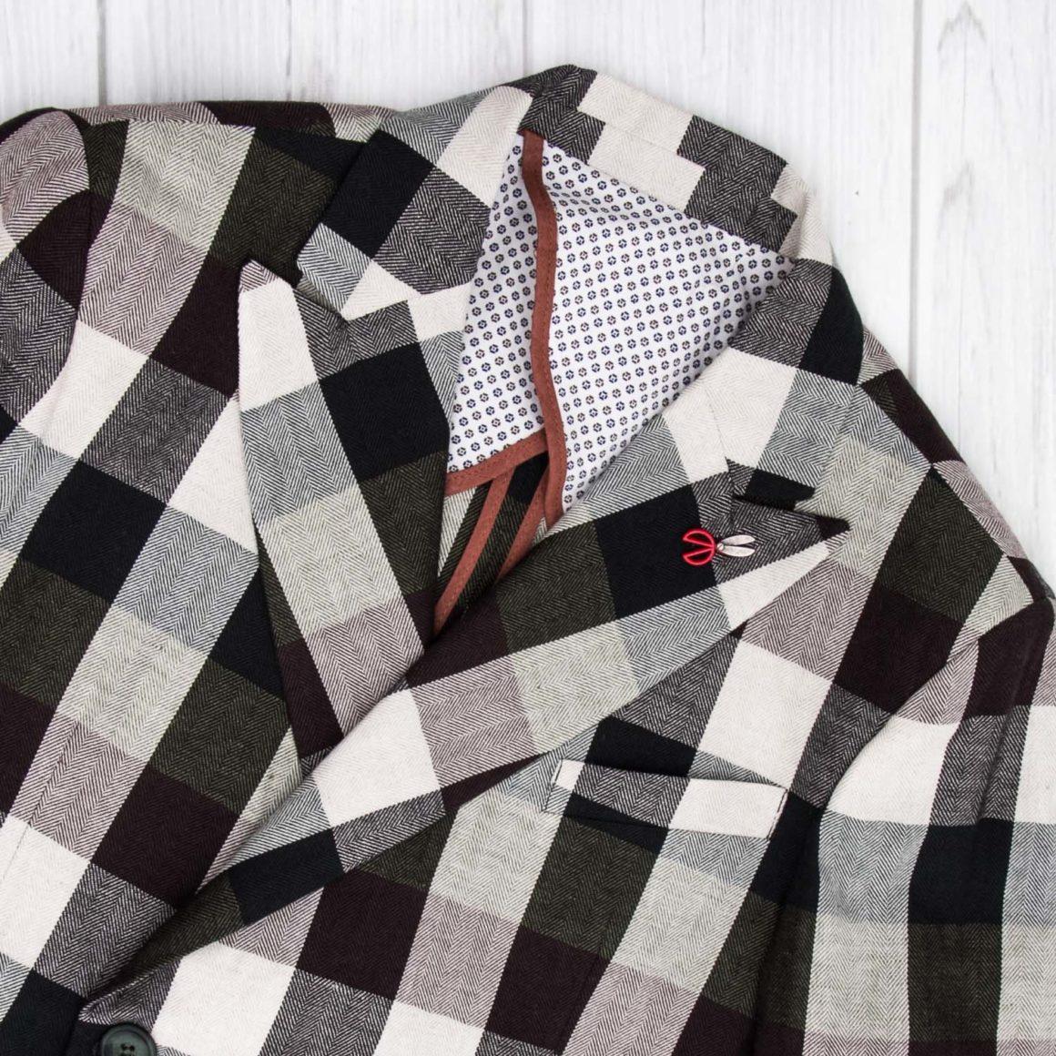 separation shoes 382d1 db588 Come abbinare una giacca a quadri - Il blog del Marchese