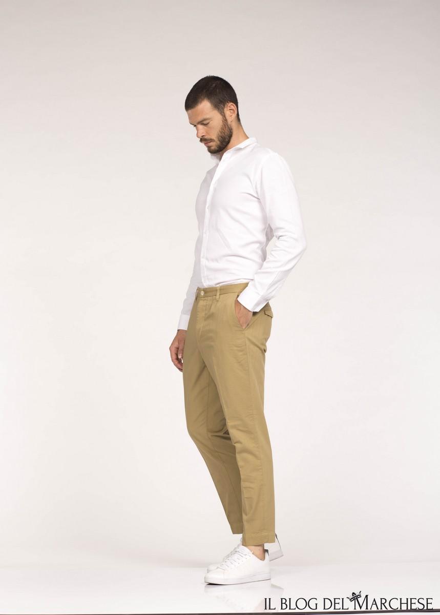 pantaloni uomo estate